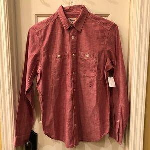 GAP NWT button front shirt Size XS
